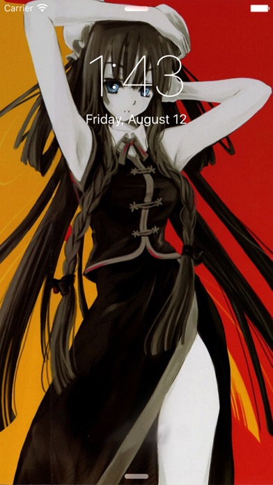 The Best HD Anime Wallpapers Screenshot on iOS