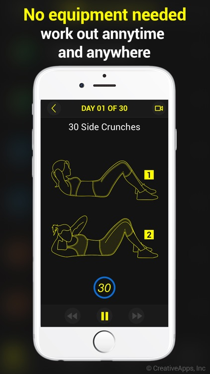 30 Day Abs ~ Perfect Workout For Abs