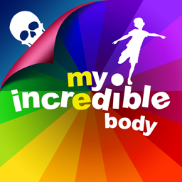 Ícone do app My Incredible Body - Guide to Learn About the Human Body for Children - Educational Science App with Anatomy for Kids