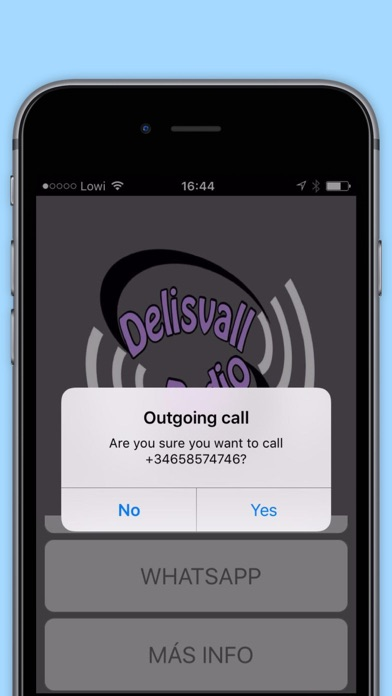 Delisvallradio App screenshot 1