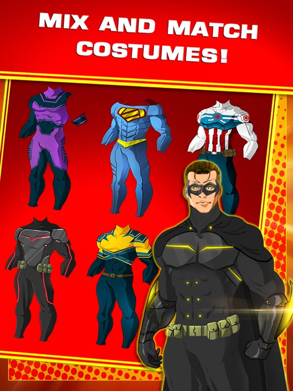 ... Screenshot #2 for Create Your Own Superhero Character For Free ...  sc 1 st  App Sliced & Create Your Own Superhero Character For Free | App Price Drops
