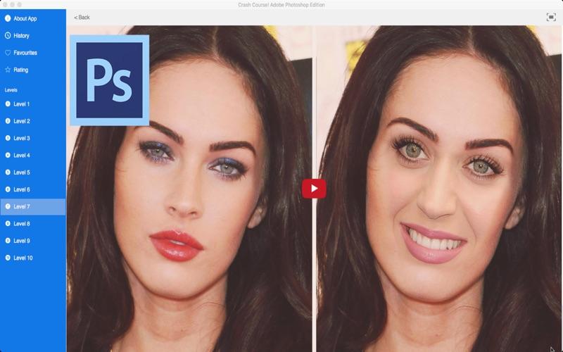 Crash Course Adobe Photoshop Edition review screenshots