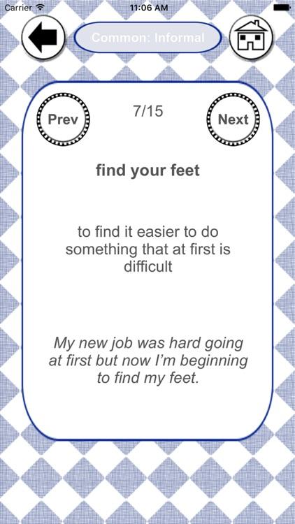 Idioms Success
