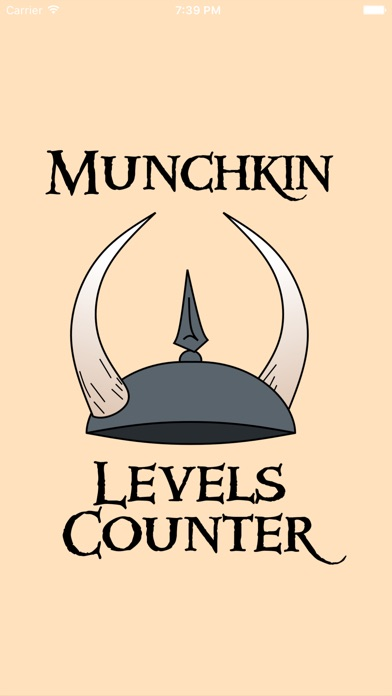 Levels Counter for Munchkin Screenshot on iOS