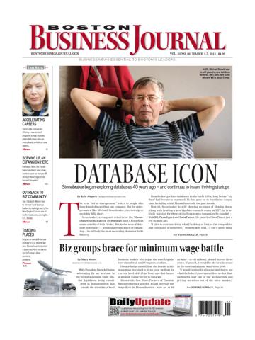 Screenshot of Boston Business Journal