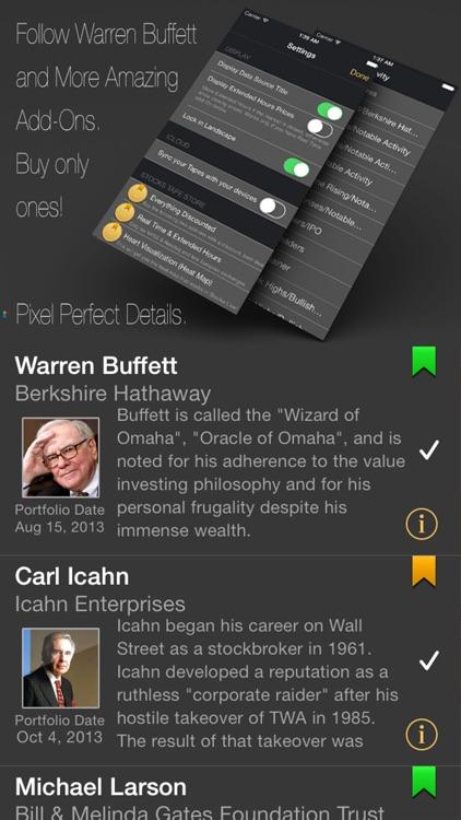 Stocks Tape: Market Browser screenshot-3