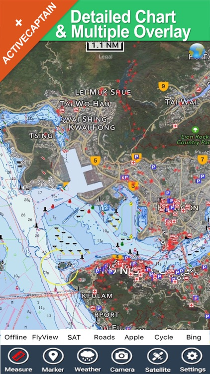 Hong Kong - GPS Map Navigator