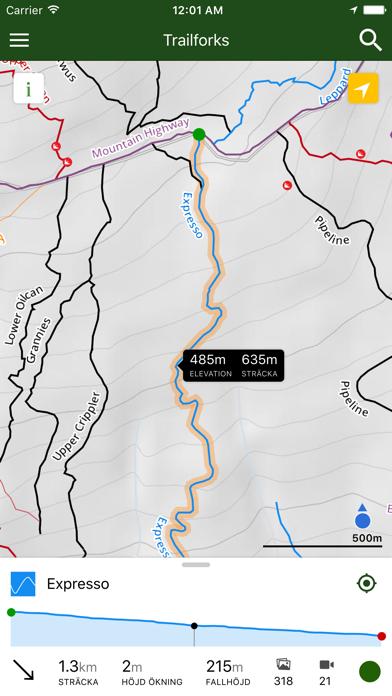 Trailforks - Bike Karta på PC