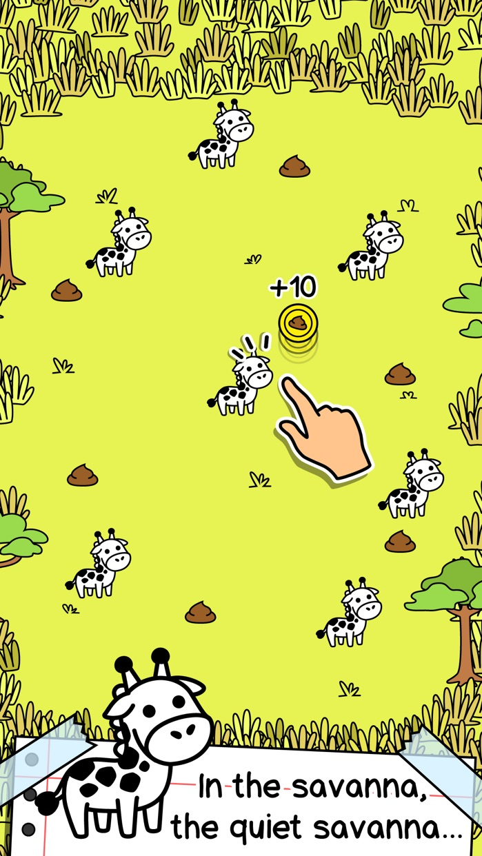 Giraffe Evolution | Clicker Game of the Mutant Giraffes Screenshot