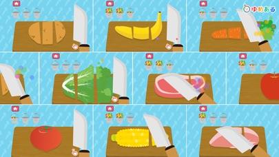 動物園の料理(キッチントントンン!)幼児向け知育アプリのスクリーンショット2