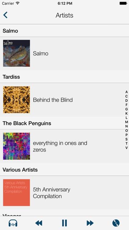 Static Music Player screenshot-4