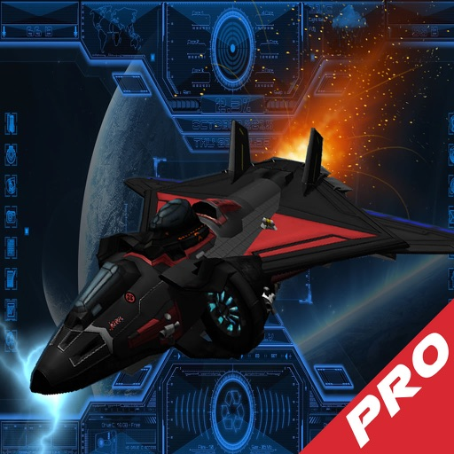 Super Spacecraft Track Pro - Game Ship Fighter Lightning icon