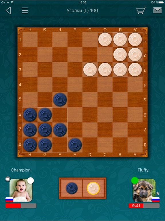 Шашки LiveGames для iPad