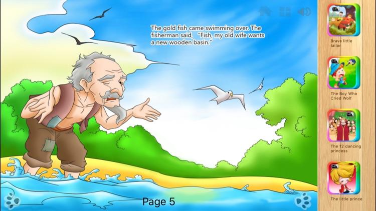 The Fisherman and the Goldfish - iBigToy screenshot-4
