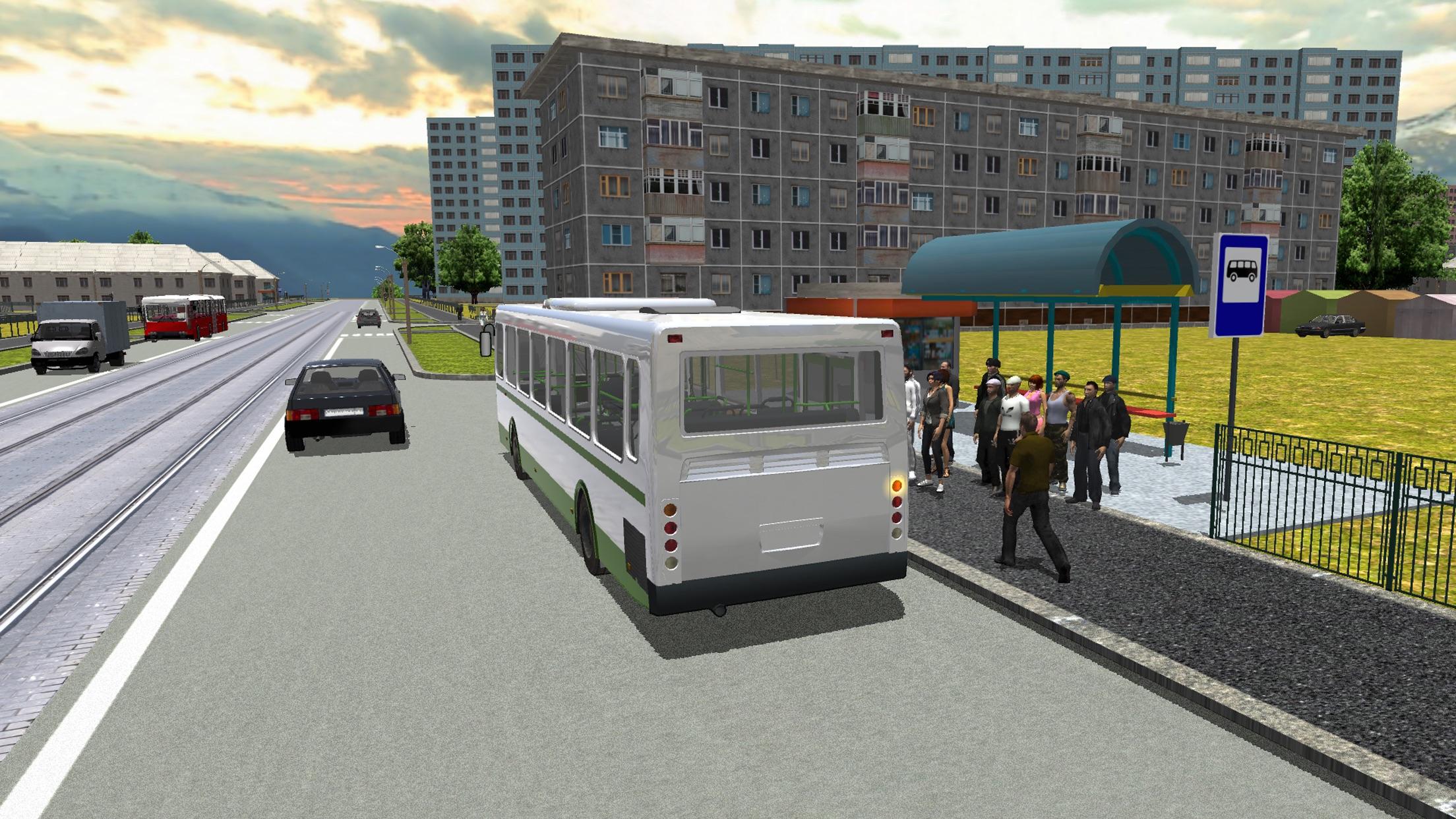 Bus Simulator 3D 2016 Screenshot