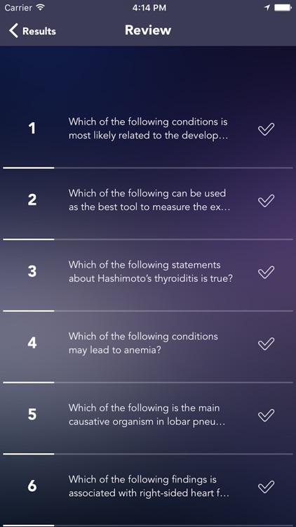 PANCE(Physician Assistant) Test Prep screenshot-4