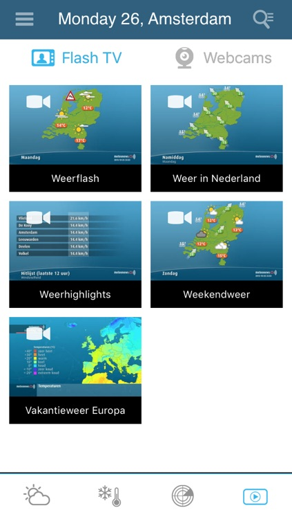 Weather for the Netherlands Pro screenshot-3