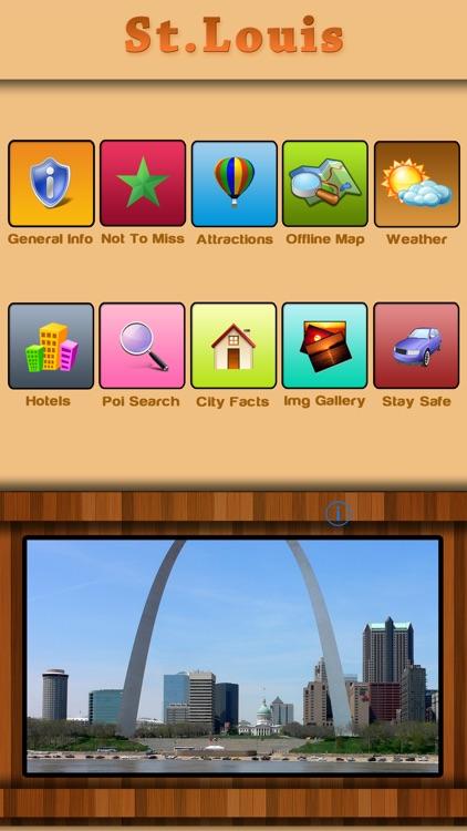 St.Louis Offline Map Travel Guide