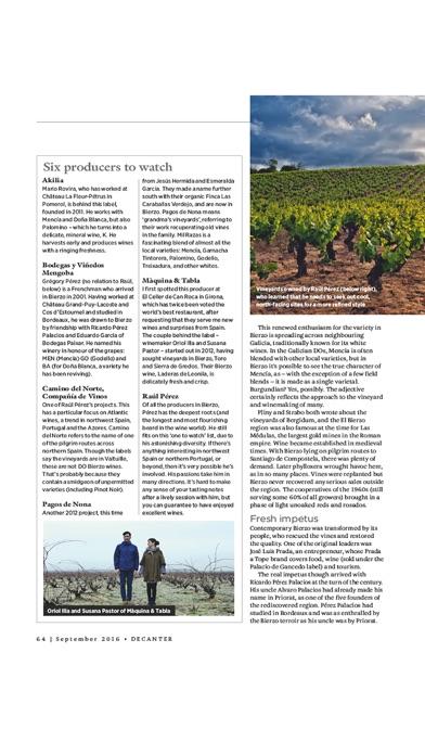 Decanter Magazine Na review screenshots