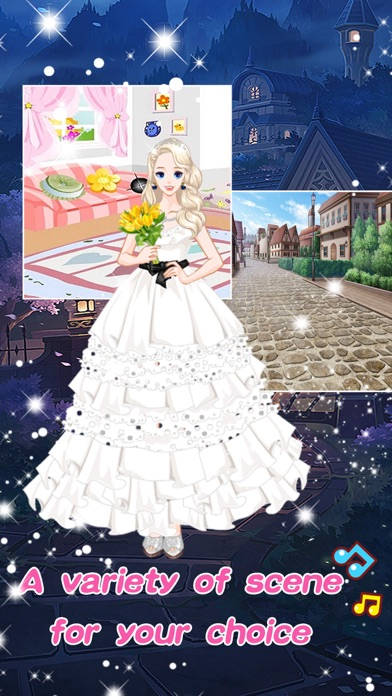 Princess fashion wedding - Girls Make up games screenshot two