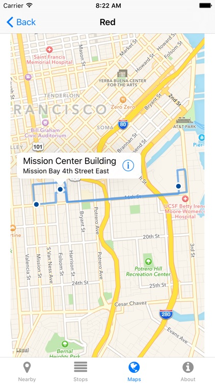 UCSF Shuttle Now - Real-time Transit Arrivals screenshot-3