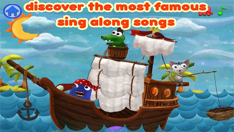 Kids Song Planet - children sing along and nursery rhymes song book – music app for boy and girl