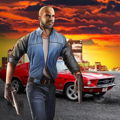 Vegas Crime Driver - Be a gangster, drive a car and fight with Vegas police!