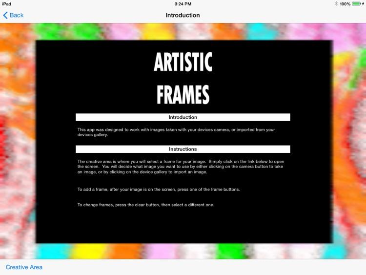 Artistic Frames screenshot-4