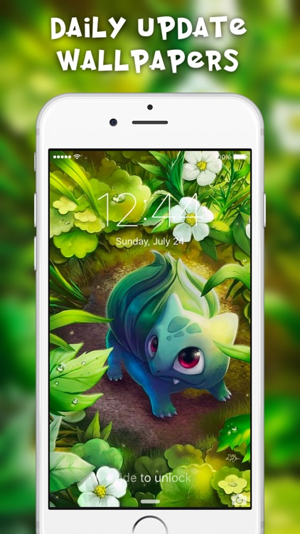 Poke Wallpapers - Free Backgrounds for Pokemon GO screenshot-3