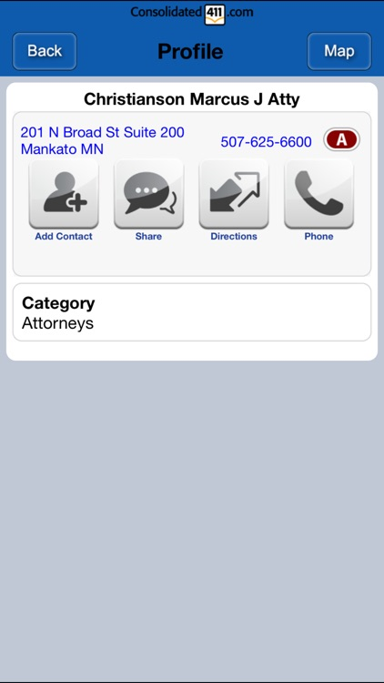 Consolidated411.com Directory screenshot-3