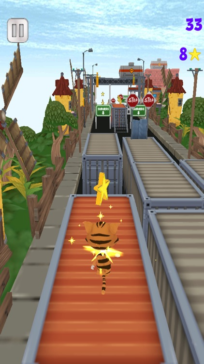 Big Bang Pets Kids - Funny in a Fast Race City screenshot-2