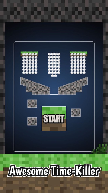 Mine Pong Physics Game - 100 Crafty Balls Challenge - Online Game
