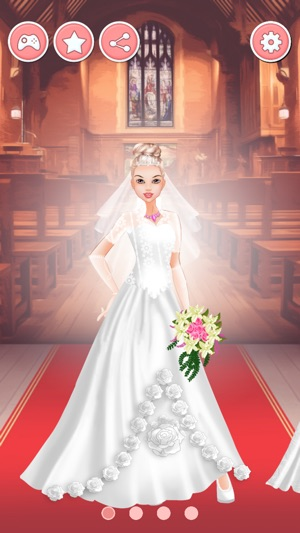 Bride Dress Up Game Wedding Makeover Salon On The App Store