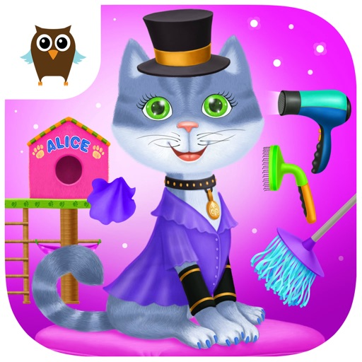 Sophie Pet Club - Kitten, Puppy, Mouse & Turtle Care