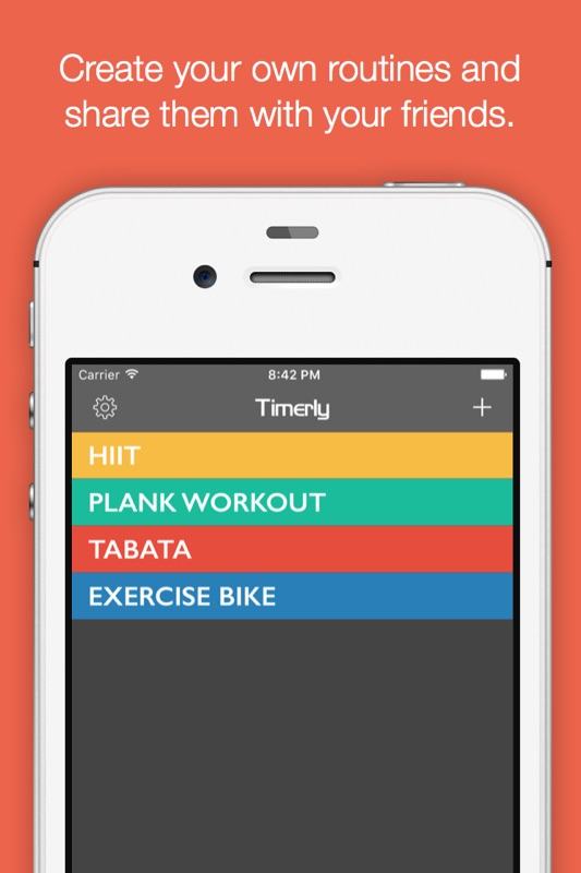 timerly interval timer for hiit, workouts, tabata, and more