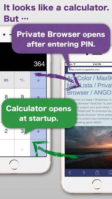 download Private Browser - which pretends to be a calculator to protect your bookmark and browsing history apps 2