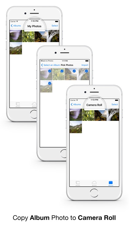Photomigrate - Easily transfer photos & videos to camera roll