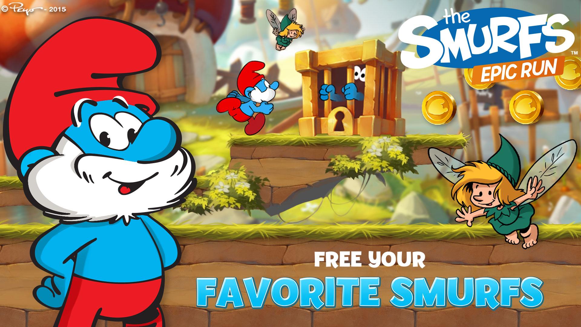 Smurfs Epic Run TV screenshot 1