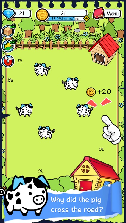 Pig Evolution   Tap Coins of the Crazy Mutant Tapper and Piggy Farm Clicker Game