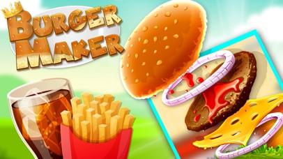 Super Burger Maker - Crazy Chef Cooking Game