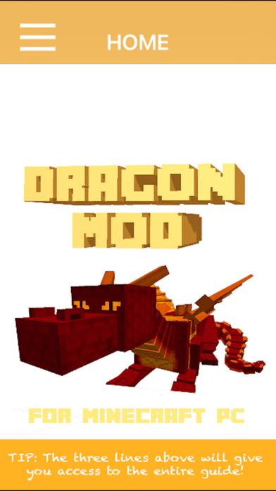 Dragon Mod For Minecraft PCのおすすめ画像1