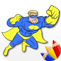 Codes for Superheroes - Coloring Book for Little Boys and Kids - Free Game Hack