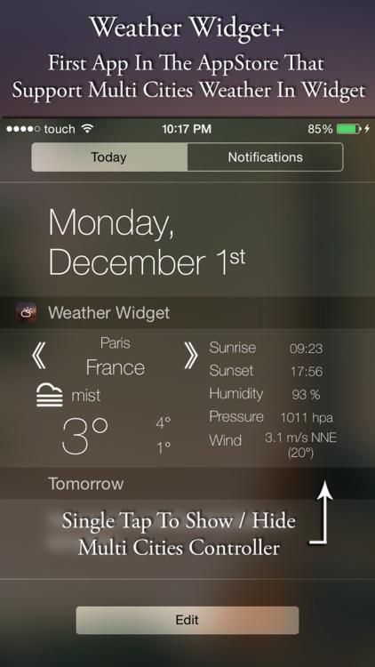 Weather Widget+