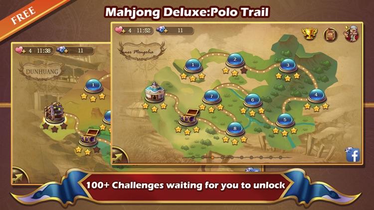 Mahjong Deluxe:Polo Trail screenshot-3