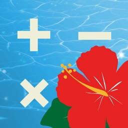 TropicalCalc-Flowery Free Calculator-