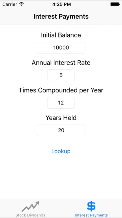 Compounder - Compound Interest screenshot-2