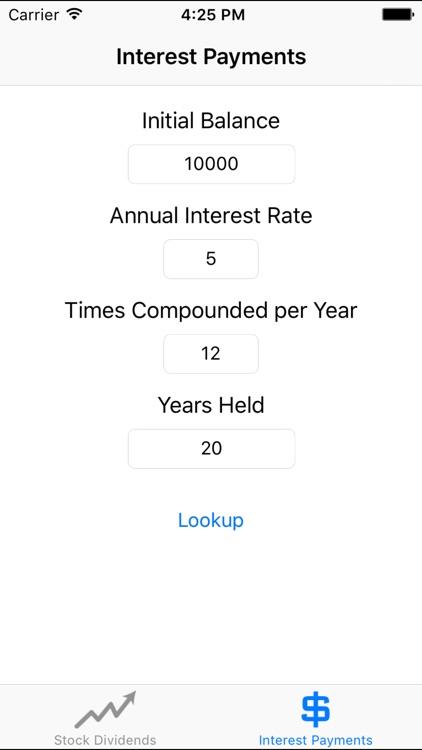 Compounder - Compound Interest