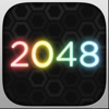 GeoMatch - 2048 experience with glowing neon particle explosions - iPhoneアプリ