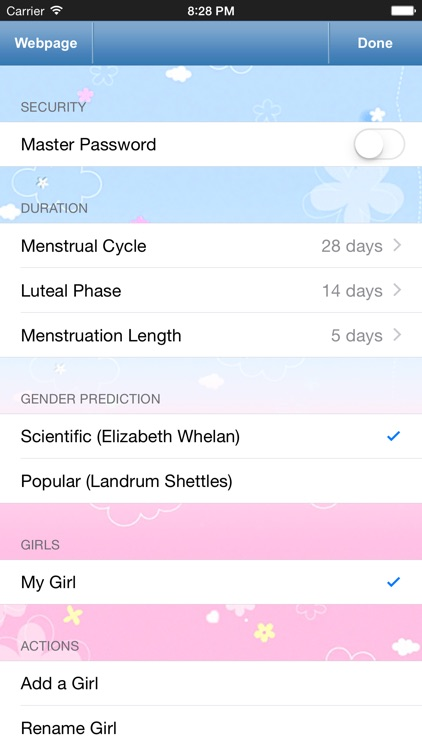 Menstrual Calendar for Men - Ovulation Calculator, Fertility & Period Tracker to Get Pregnant screenshot-4