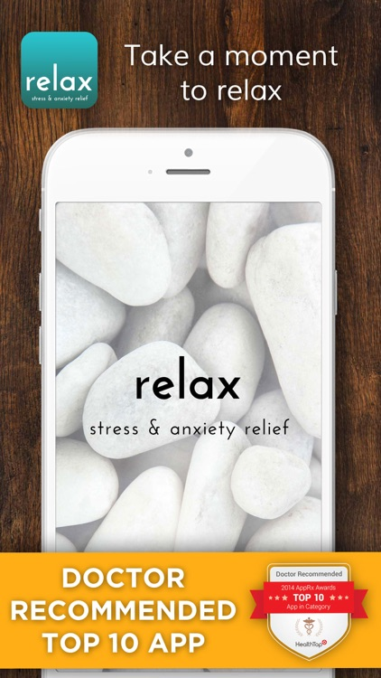 Relax - Stress and Anxiety Relief screenshot-0